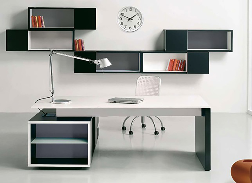 Office storage modules and shelves