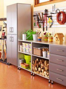 Le garage et l'atelier