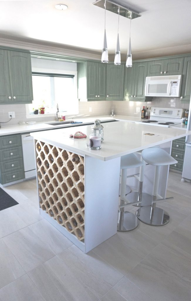 Kitchen Interior Design in Oka, Quebec