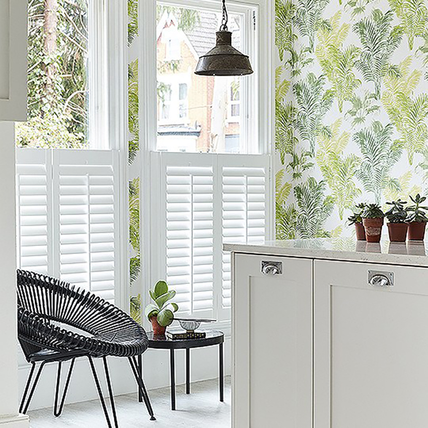 Shutters with slats