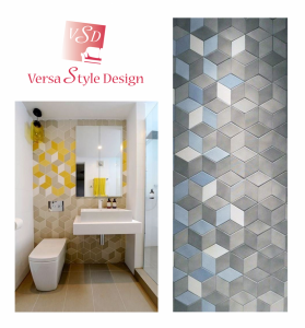 Inject colour with outstanding tile