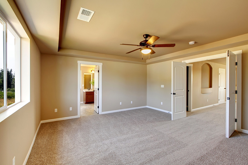 home staging vacant home