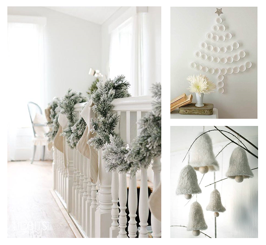 An all-white Christmas (or almost)