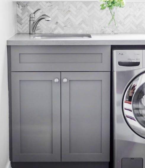 Une salle de lavage fonctionnel