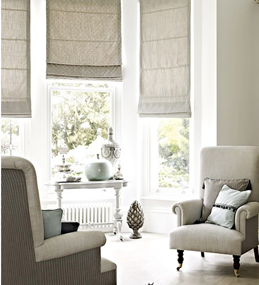 Stylish Window Treatments and Bedding