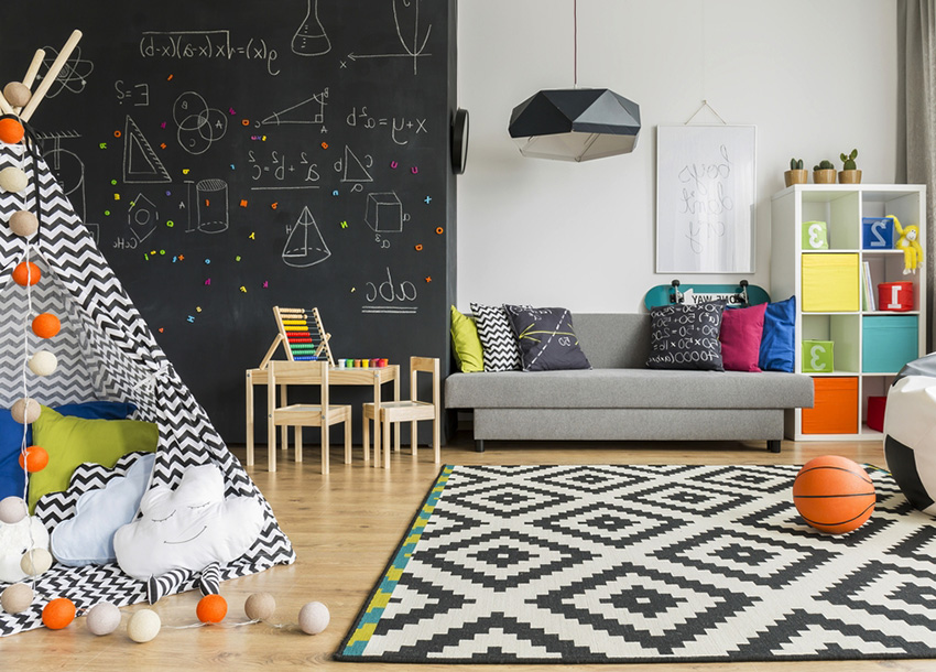 Montreal Kids' Bedroom and Playroom Design