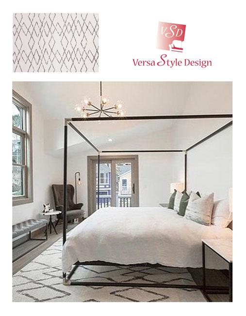 Design de chambre à coucher à Montréal
