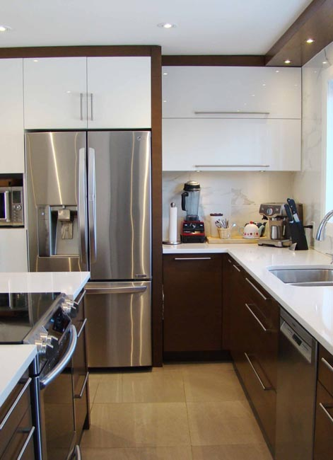 Design et rénovation de cuisine à Lorraine, Montréal