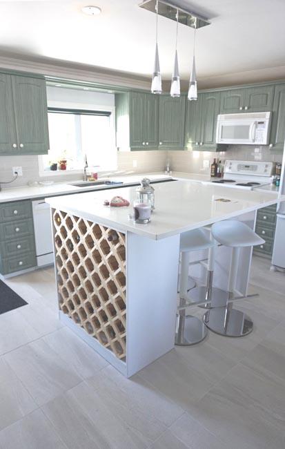 Kitchen Design in Oka, Quebec