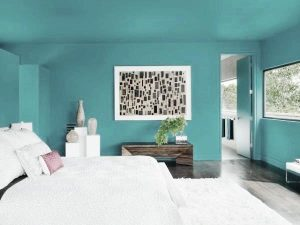 Paint the ceiling to match the walls