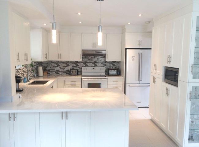 Design et rénovation d'une cuisine à Boucherville