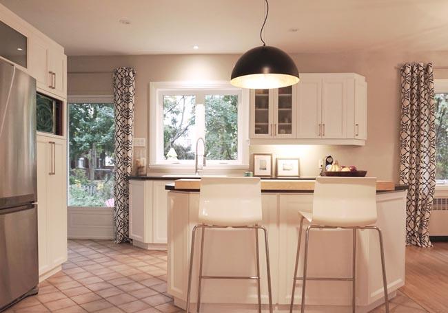Rénovation et design de cuisine à Saint Lambert