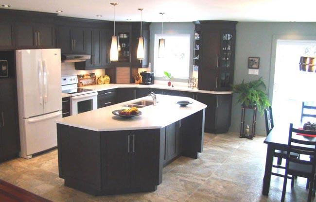 Kitchen Design in Dollard-des Ormeaux, Montreal