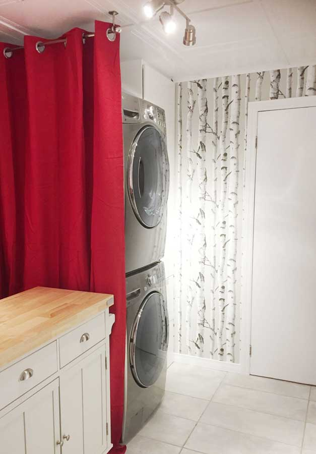 Laundry Room Renovation in Chambly, Quebec