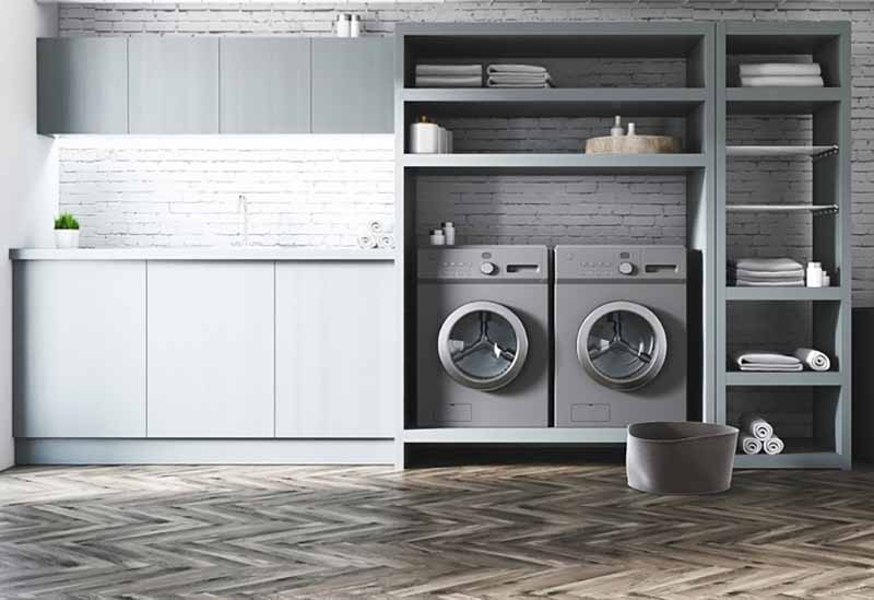 Functional Bathrooms and Laundry Rooms