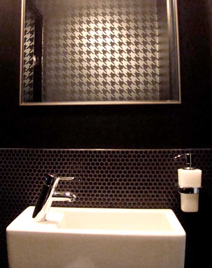 Powder Room Renovation in Outremont