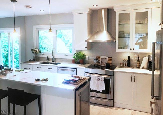Rénovation et design de cuisine à Dollard-des-Ormeaux