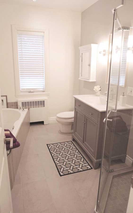 Métamorphose de salle de bain à Saint-Lambert, Québec