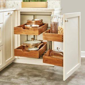Idées de rangement pour la cuisine - Le coin avec annexe