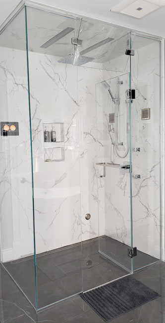 Complete Bathroom Renovation in Pierrefond, Montreal