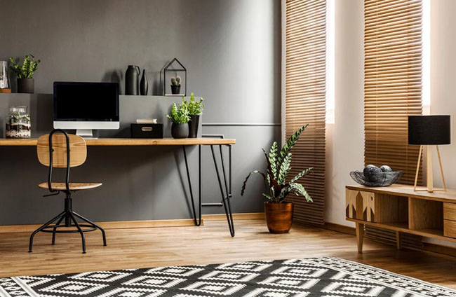 Consultation en ligne de design de bureau à domicile
