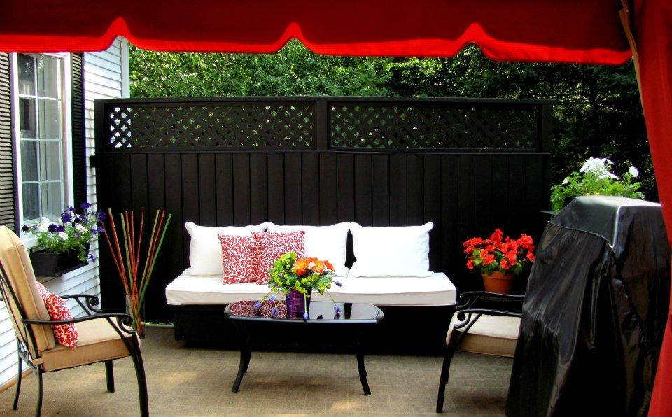 Design de terrasse contemporaine