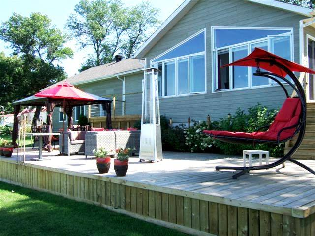 Terrace Design in Varennes, Quebec