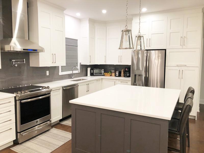 Rénovation de cuisine à Montréal-Est