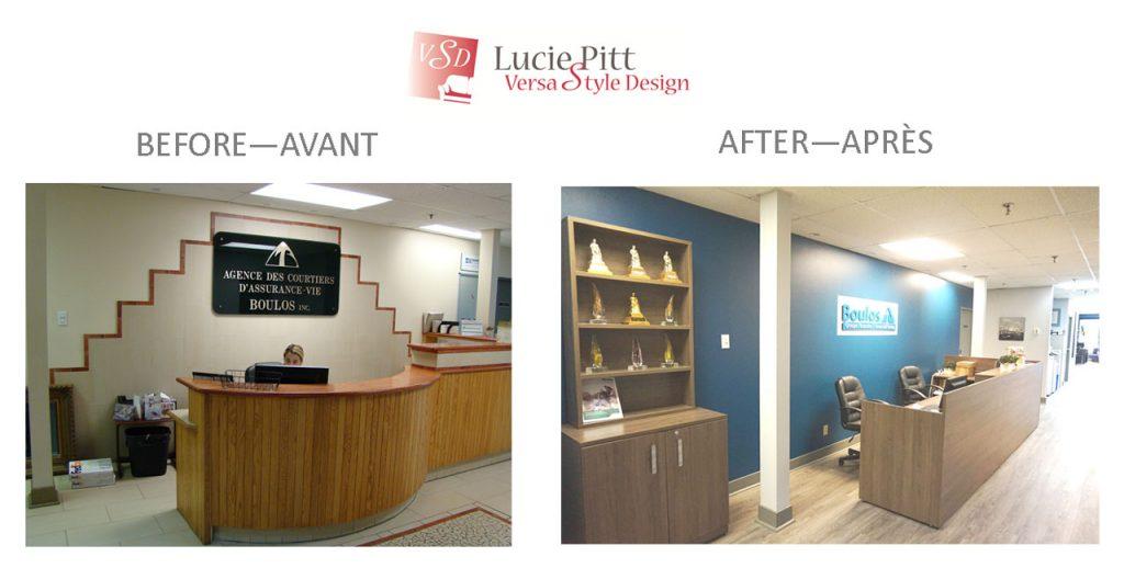 Montreal office design portfolio
