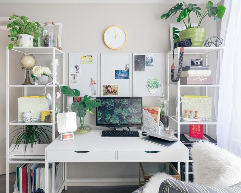où intégrer un bureau à la maison