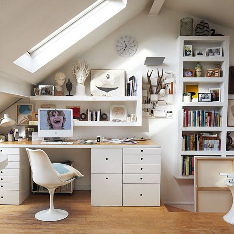 Where to integrate a home office