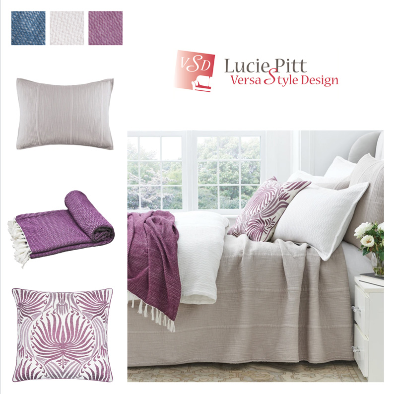Add colour with pillows and throws